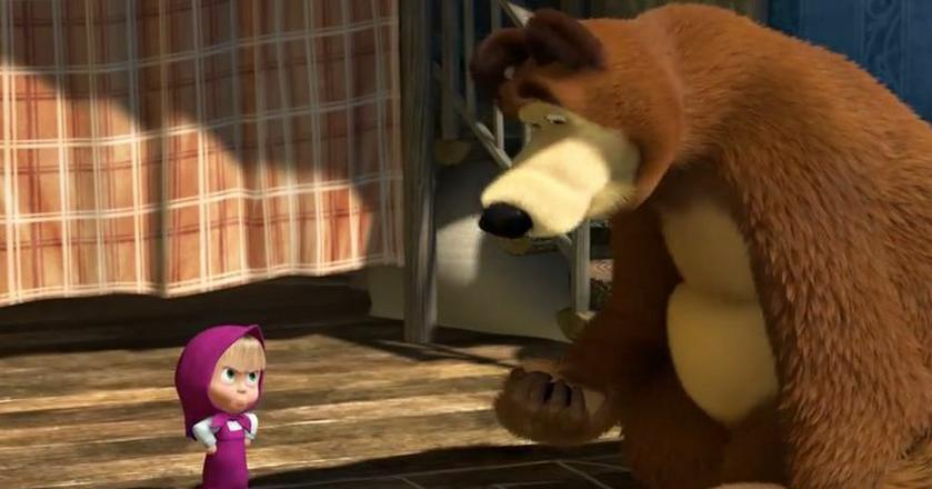"""""""Masha i niedźwiedź"""" to jedynie niemuzyczne wideo w top 10 YouTube'a"""