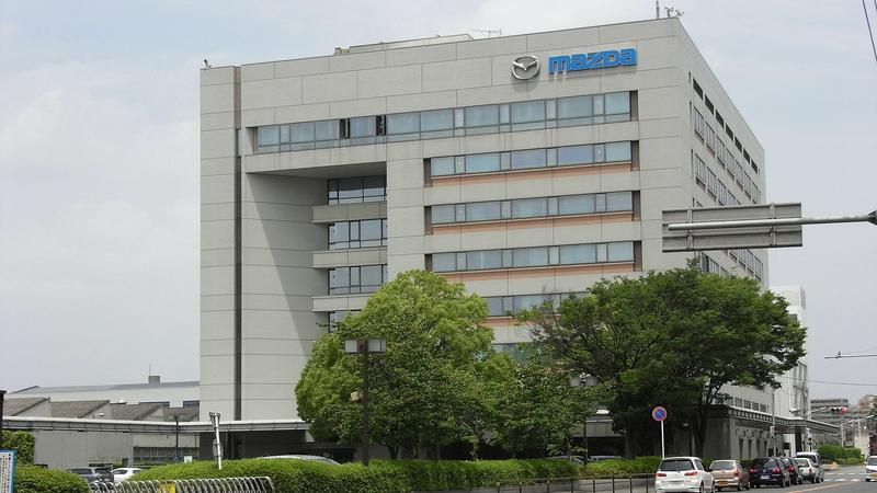 Mazda - główna siedziba w Hiroszimie
