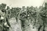 Đačka četa - 1300 kaplara na maršu prema Drini, 1914.