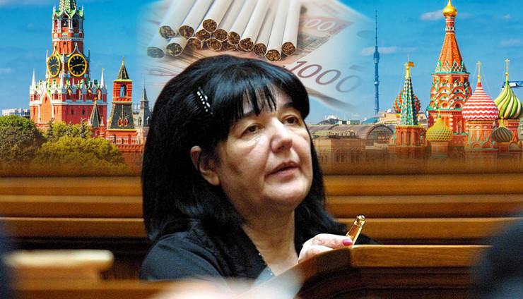 mira markovic RAS EPA Sasa Stankovic, Shutterstock