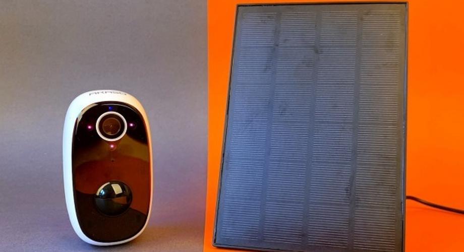 Akaso CS300 im Test: Outdoor-Kamera mit Solarpanel