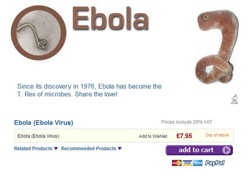 Ebola do kupienia w internecie!