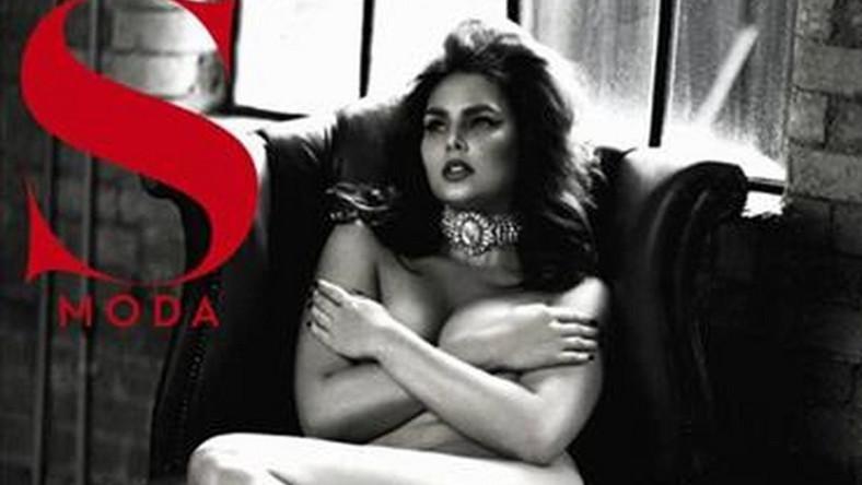 """Modelka na okładce hiszpańskiego magazynu """"S Moda"""""""