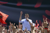 Albanija, Opozicija, Protesti