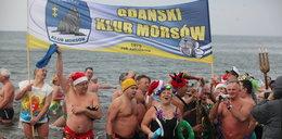 Morsy przywitały nowy rok w Bałtyku!