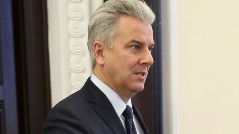 B. minister sprawiedliwości Cezary Grabarczyk