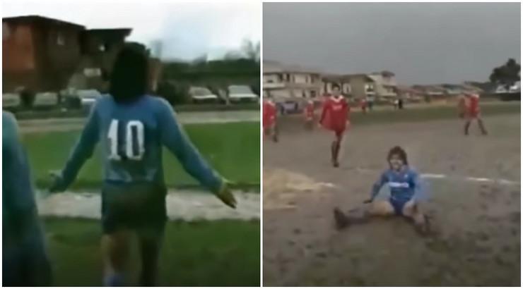 Maradona meč za dete