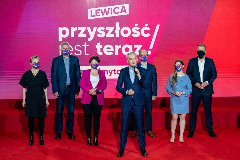 Robert Biedroń pośród ważnych postaci Nowej Lewicy