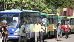 File image of Kencom Matatu stage