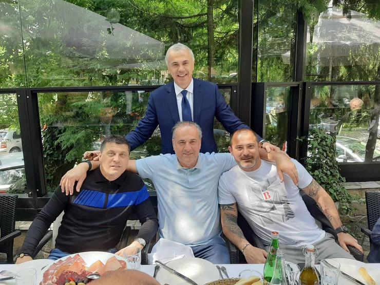 Terzić, Stanković, Božović, Milojević