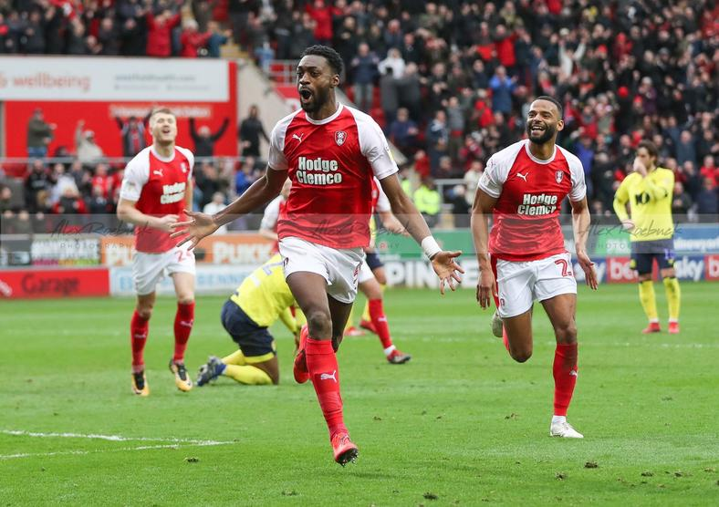 Semi Ajayi was the hero as Rotherham United secured a win (Miller's)
