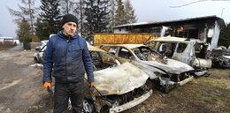 W kilkadziesiąt minut z dymem poszły setki tysięcy złotych. To, co stało się potem, przywraca wiarę w ludzi