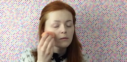 Niewidoma 19-latka chce zostać makijażystką