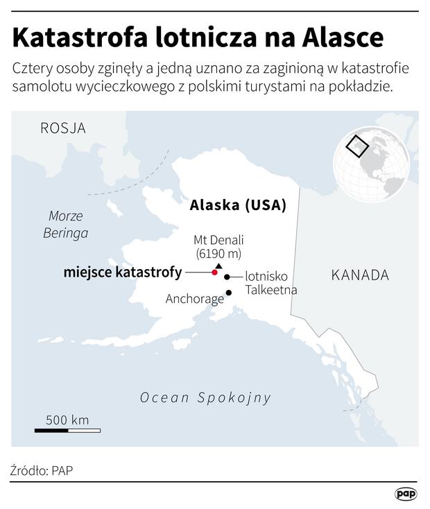Katastrofa samolotu na Alasce