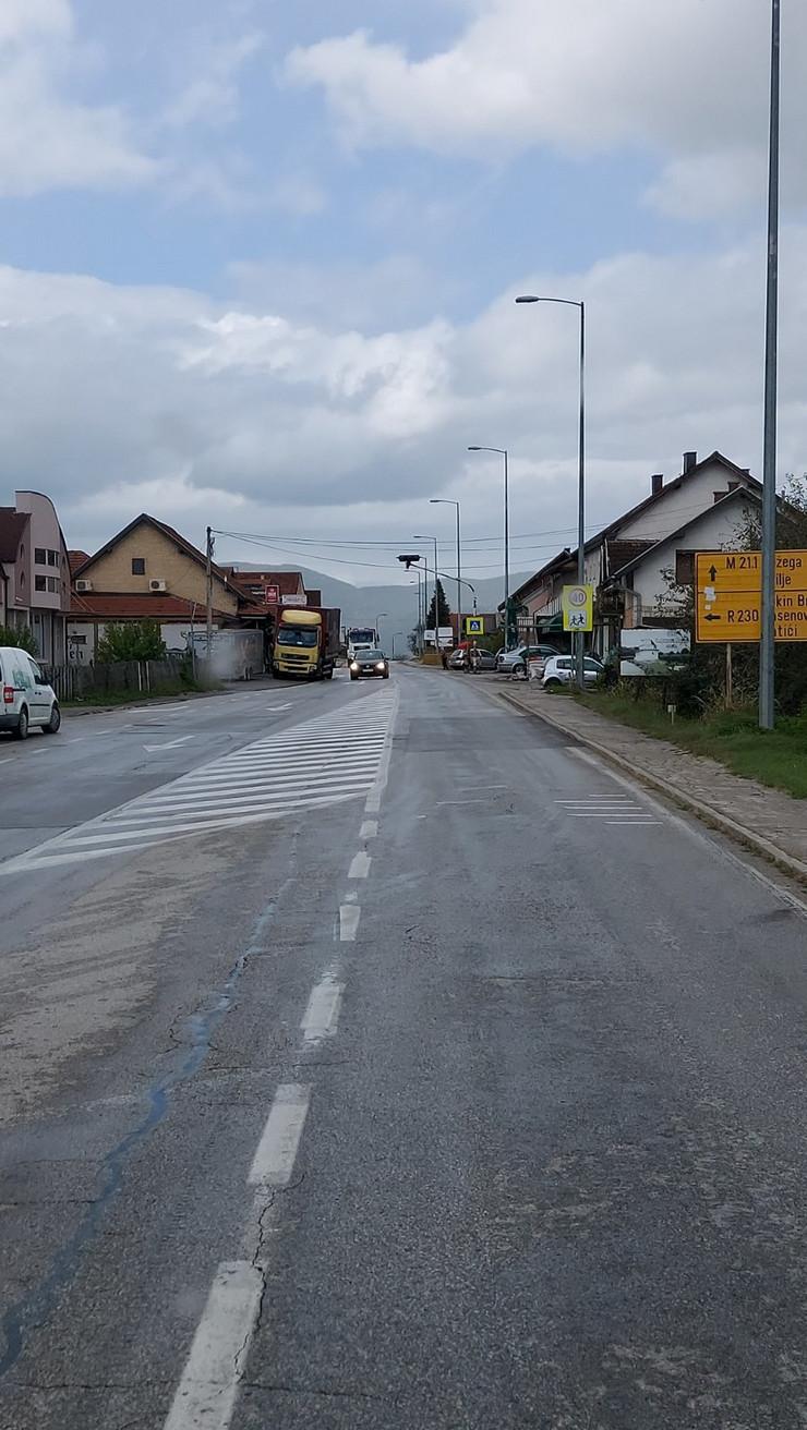 Ivanjica, naselje Prilike, crna tačka