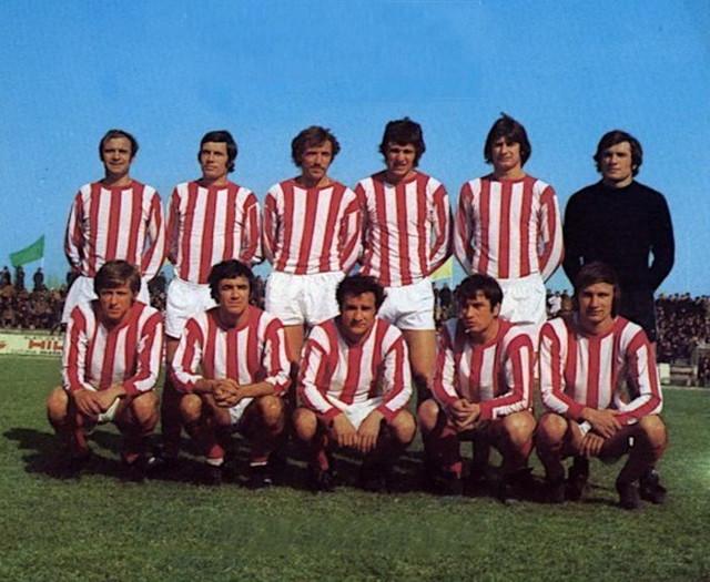 Tim Crvene zvezde koji je 1973. godine eliminisao Liverpul