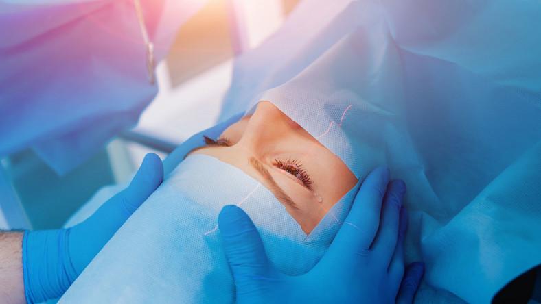 Operacja okulistyczna, zabieg na oczy