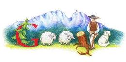 Rysunek małej Polki będzie zdobił Google