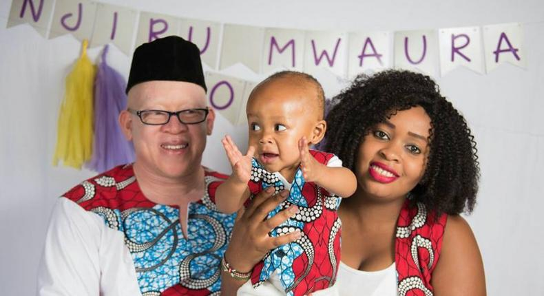Isaac Mwaura's family. Isaac Mwaura's wife pays tribute to two of her triplets who died with touching message