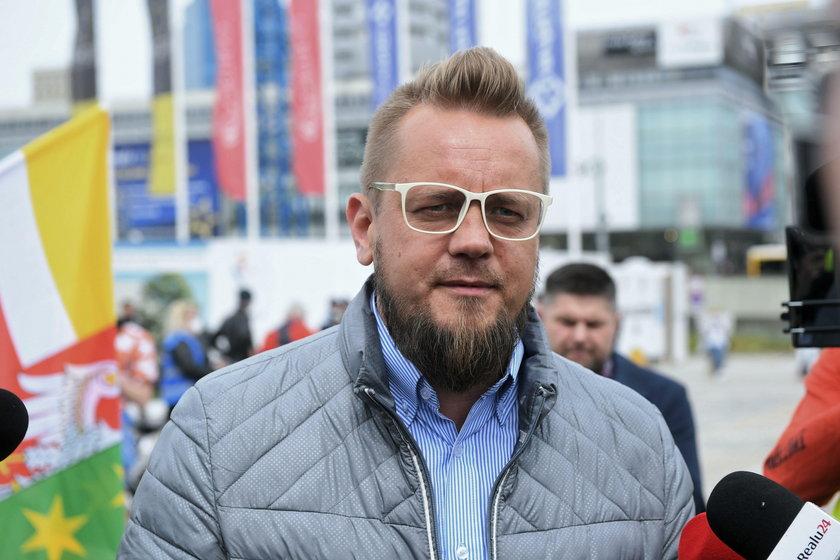 Inicjator strajku Paweł Tanajno