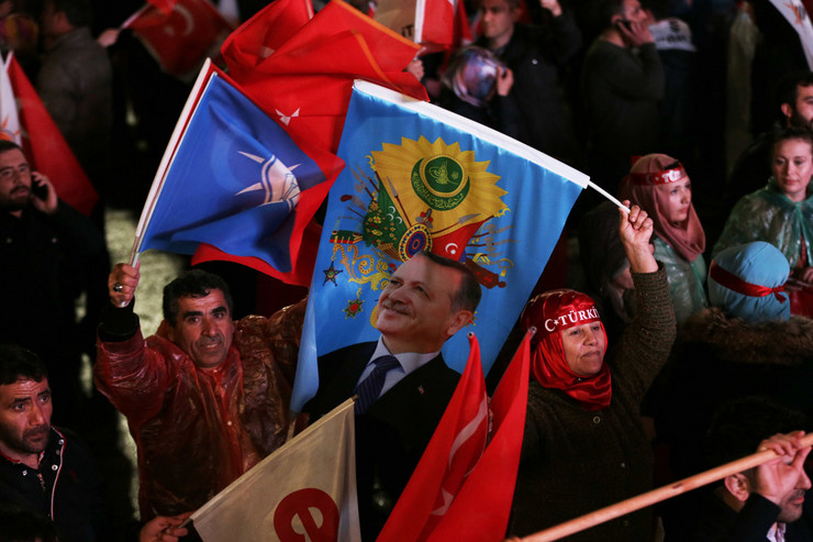 Erdogan, proslava na ulicama Turske nakon referenduma 04 foto Tanjug AP