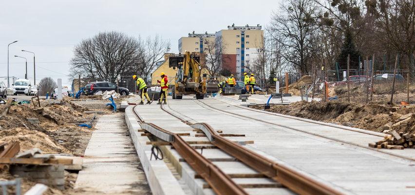 Miasto znów musi dołożyć do trasy tramwajowej na Naramowice!