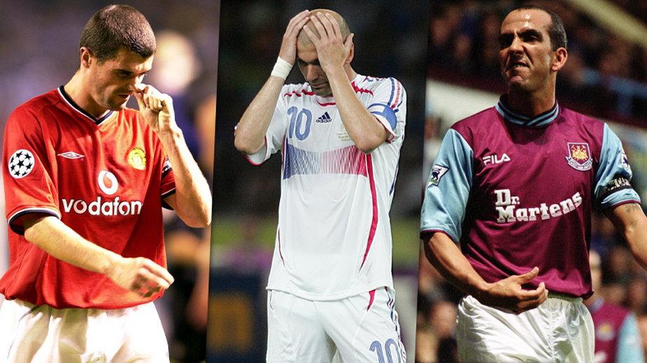 Roy Keane, Zinedine Zidane i Paolo Di Canio