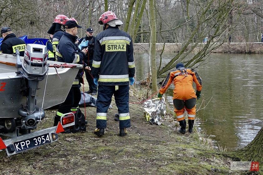 Szokujące odkrycie w Kaliszu. W rzece znaleziono ciało mężczyzny