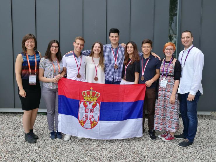 Varšava Poljska mladi fizičari, foto promo