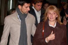 Dijana Đoković, Novak Đoković