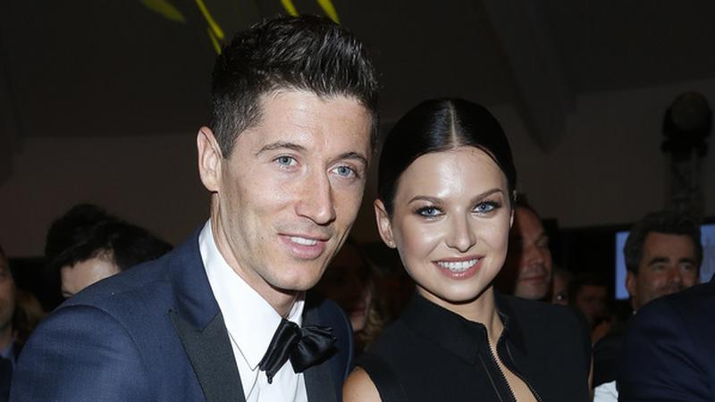 Anna i Robert Lewandowscy