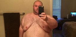 W dwa lata schudł 100 kg. Efekt ścina z nóg