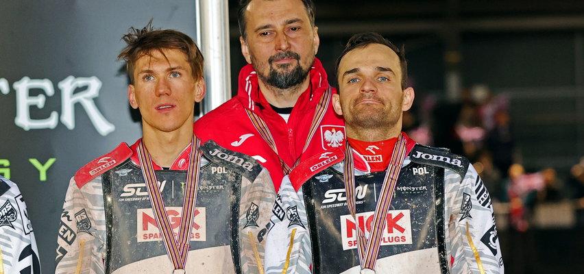 Polscy żużlowcy drużynowymi wicemistrzami świata! Upadek Janowskiego w finale