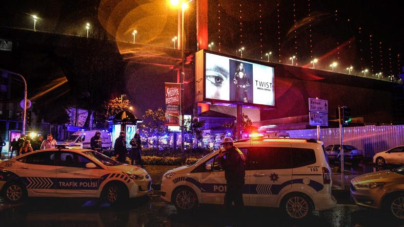 TURKEY GUN ATTACK REINA (Gun attack at a night club in Istanbul)