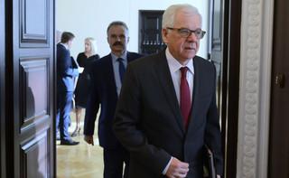 Czaputowicz: Ciągle oczekujemy wycofania się szefa MSZ Izraela ze swoich słów