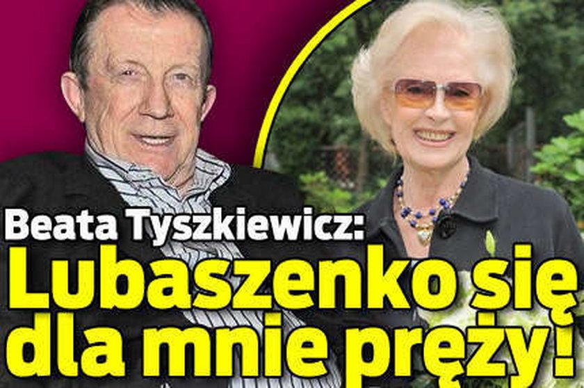 Lubaszenko romansuje z Tyszkiewicz?