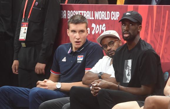 Bogdan Bogdanović je posmatrao finalni meč Španije i Argentine