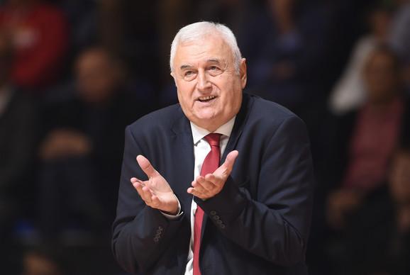 Dragan Šakota je uneo novu energiju u tim Crvene zvezde