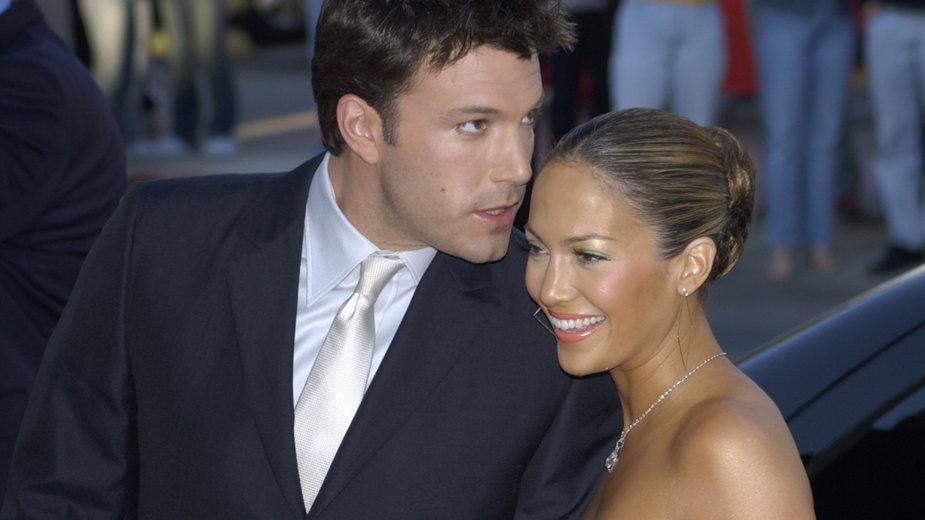 J. Lo i Ben Affleck byli parą w latach 2000-2004