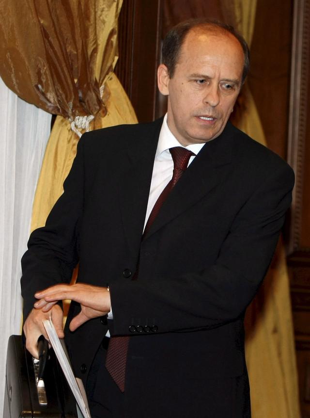 Bortnikov u maju 2008, nakon što je imenovan za direktora FSB
