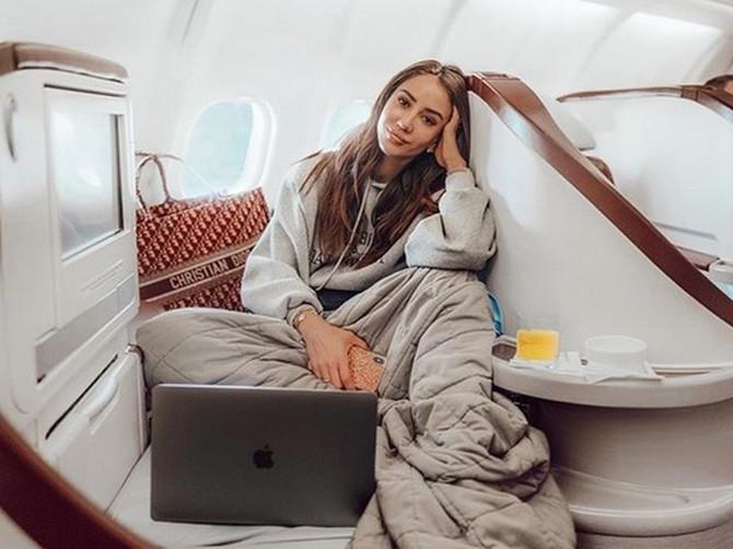 Tamara Kalinić putuje za Njujork sa Er Srbijom prvom klasom