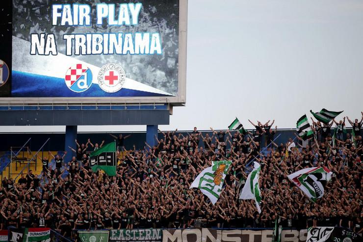 FK Dinamo Zagreb, FK Ferencvaroš, navijači