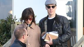 Benedict Cumberbatch i Sophie Hunter już po ślubie