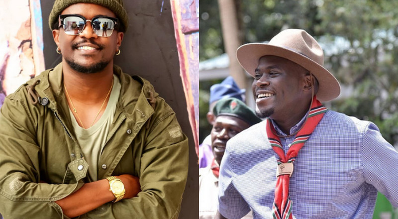 Rapper Nyashiski unveils his own Talk show with Sakaja as his first guest (Video)