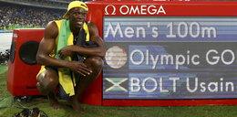 Bolt się przeżegnał i popatrzył w niebo. A potem znowu to zrobił!