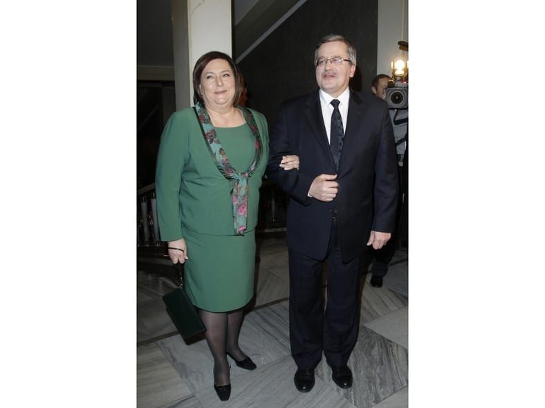Anna i Bronisław Komorowscy.
