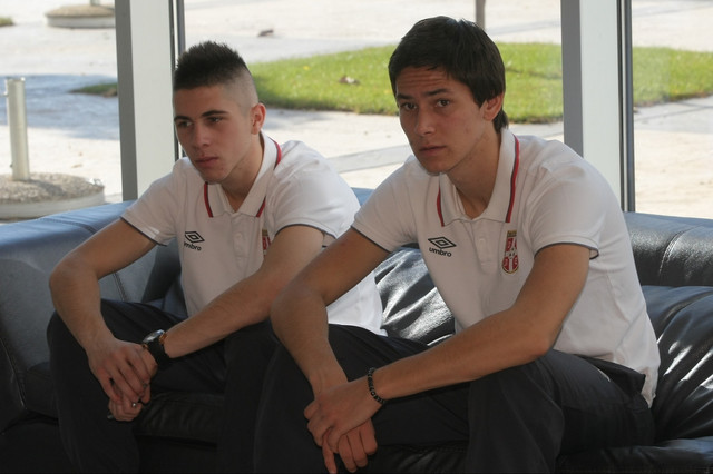 Saša Lukić (desno)