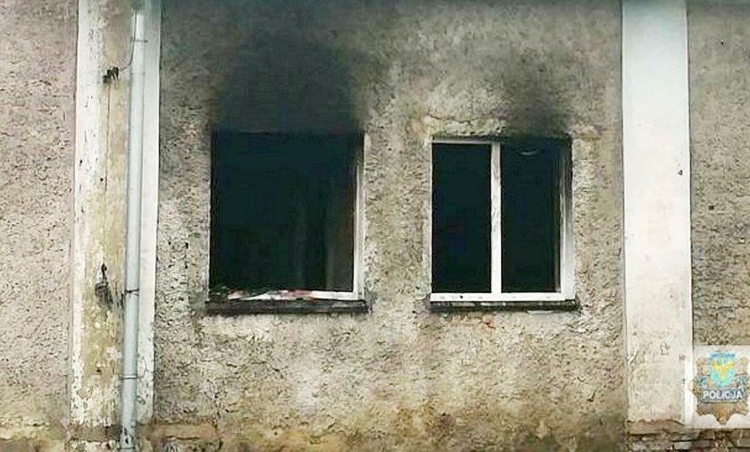 Pożar w Głubczycach