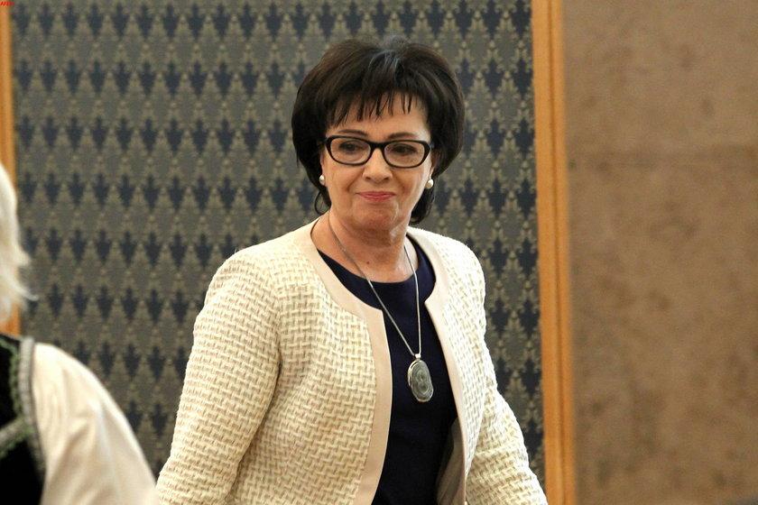 Elżbieta Witek, minister, członek Rady Ministrów