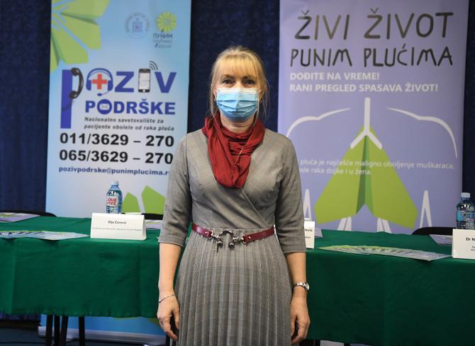 Olja Ćorović iz Udruženje pacijenata